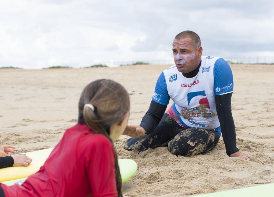 Ecole de surf située à Anglet